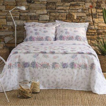 Imagem de Jogo de Cama Santista Home Design Casal Beatriz 1 Rosa