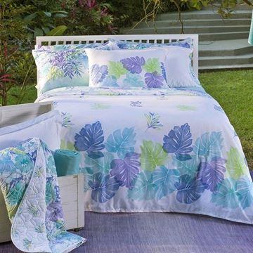 Imagem de Jogo de Cama Santista Home Design Solteiro Bali 1 Turquesa
