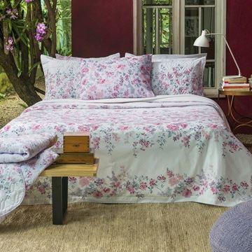 Imagem de Jogo de Cama Santista Home Design Solteiro Isa 1 Lilas