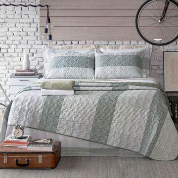 Imagem de Jogo de Cama Santista Home Design Solteiro Ravi 1 Verde
