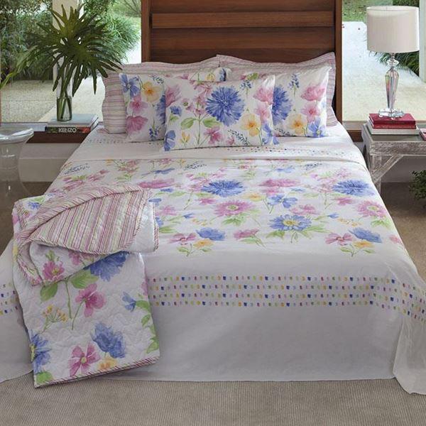 Imagem de Jogo de Cama Santista Home Design King Mila 1 Rosa