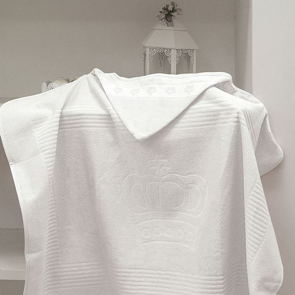 Imagem de Toalha Banho com Capuz Classic Dolher Branco