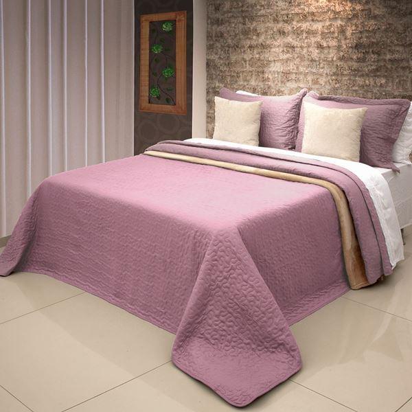 Imagem de Colcha Bouti Home Decor Lisa Casal Rosé