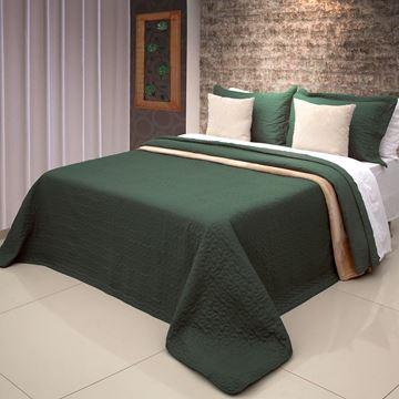 Imagem de Colcha Bouti Home Decor Lisa Solteiro Verde