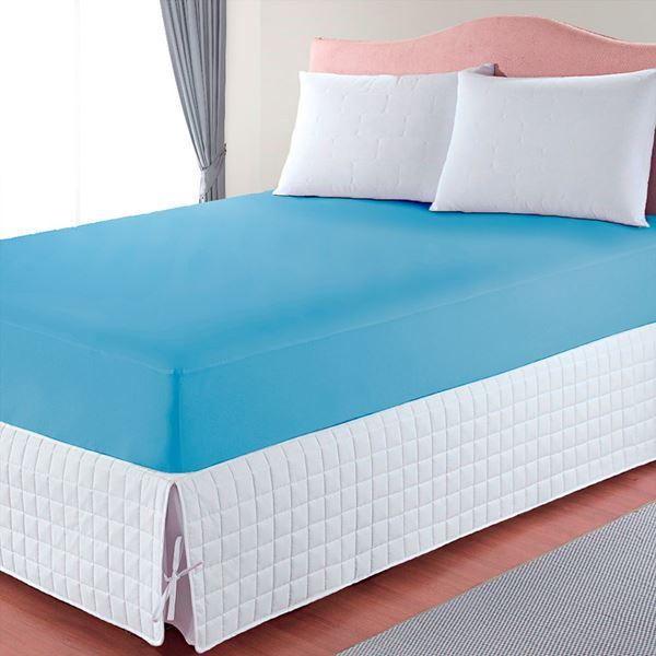 Imagem de Capa de Colchão Basic Casal Azul