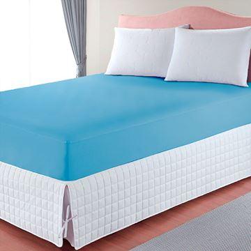 Imagem de Capa de Colchão Basic Solteiro Azul