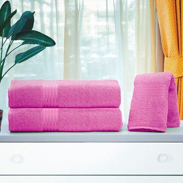 Imagem de Toalha Dolher Prisma Rosto Rosa