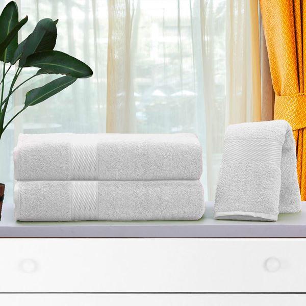Imagem de Toalha Dolher Prisma Banho Branco