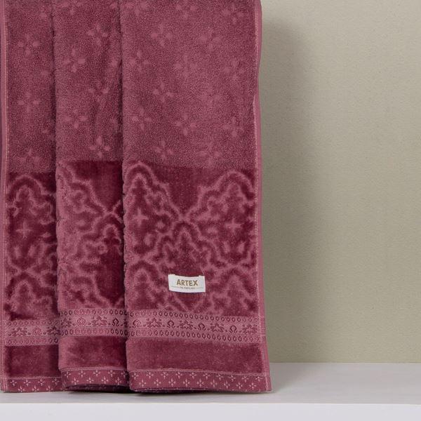 Imagem de Toalhas Madras Artex Banhão Uva