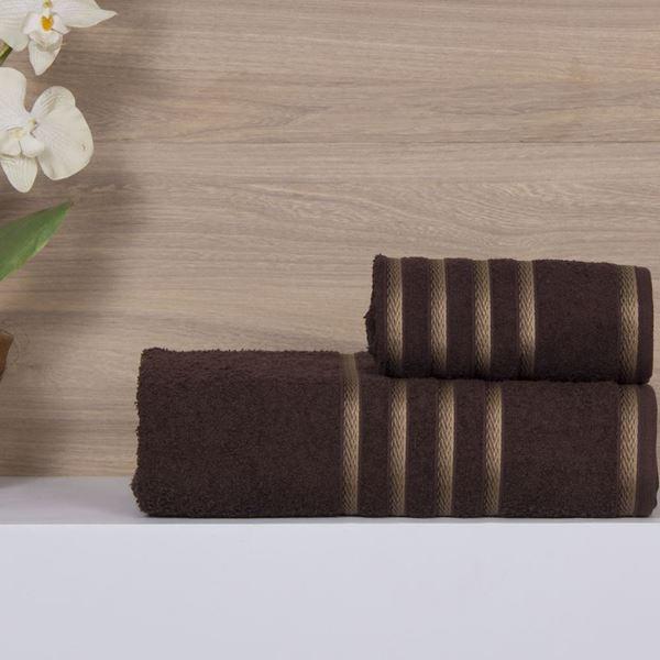 Imagem de Jogo de Toalhas Munique 5 peças Olinda Chocolate