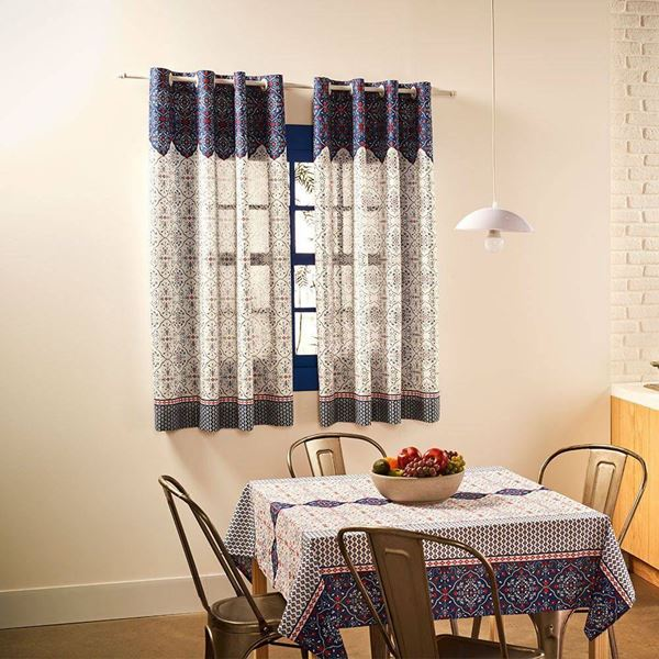 Imagem de Cortina Cozinha Toscana Basic estampada  2,60x2,40m Catarina