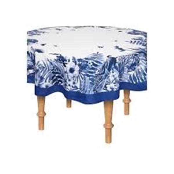 Imagem de TOALHA DE MESA SEMPRE LIMPA 1,78 x 0m NATURE BLUE